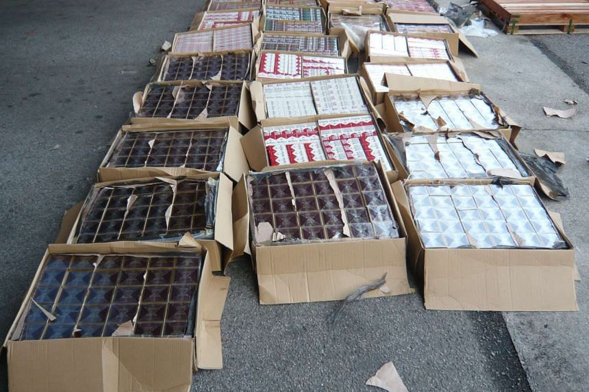 In 2013, Ibrahim and his four accomplices were arrested by Singapore Customs officers in a warehouse at Kallang Avenue for smuggling about 14,400 cartons of cigarettes.