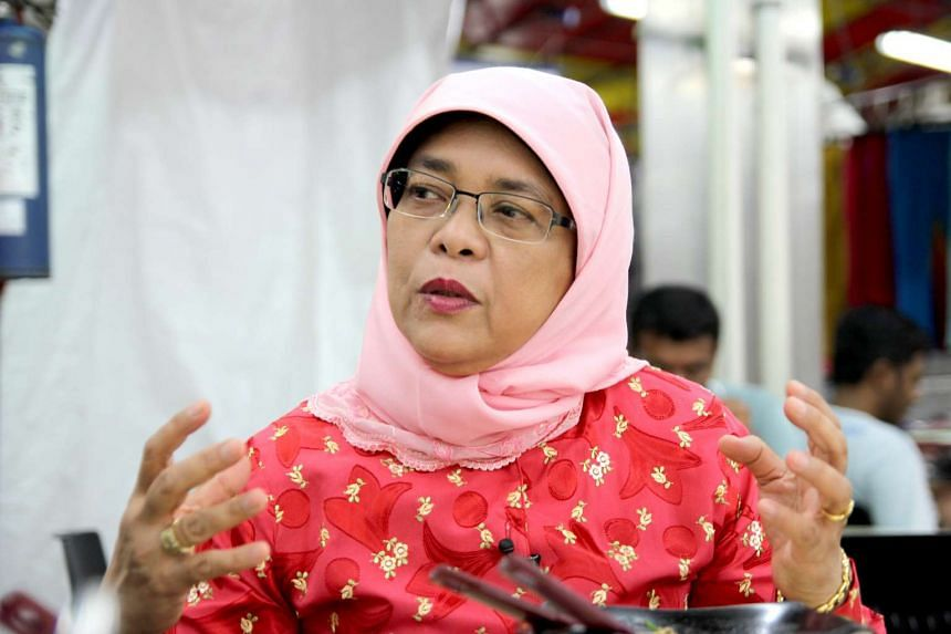 Halimah Yacob has alerted her Facebook followers about a fake account set up using her name.