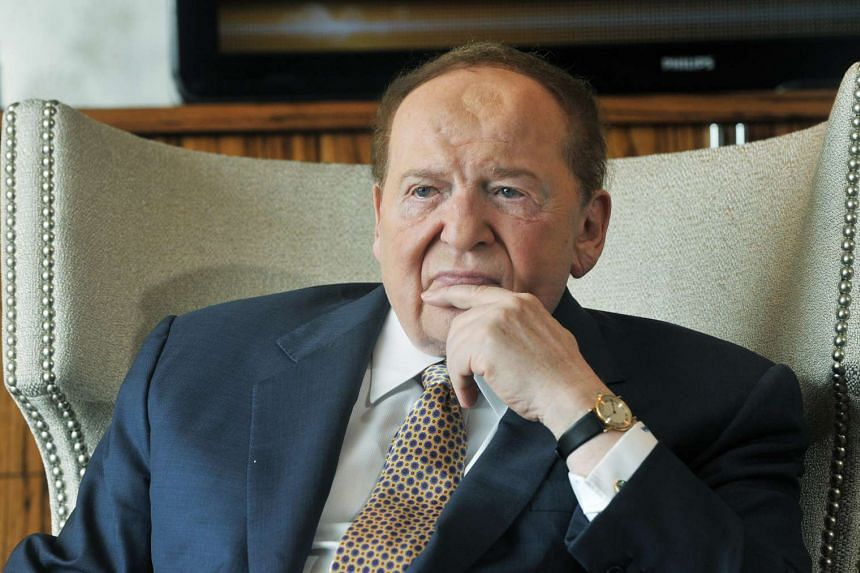 Billionaire Sheldon Adelson, who is CEO of Las Vegas Sands.