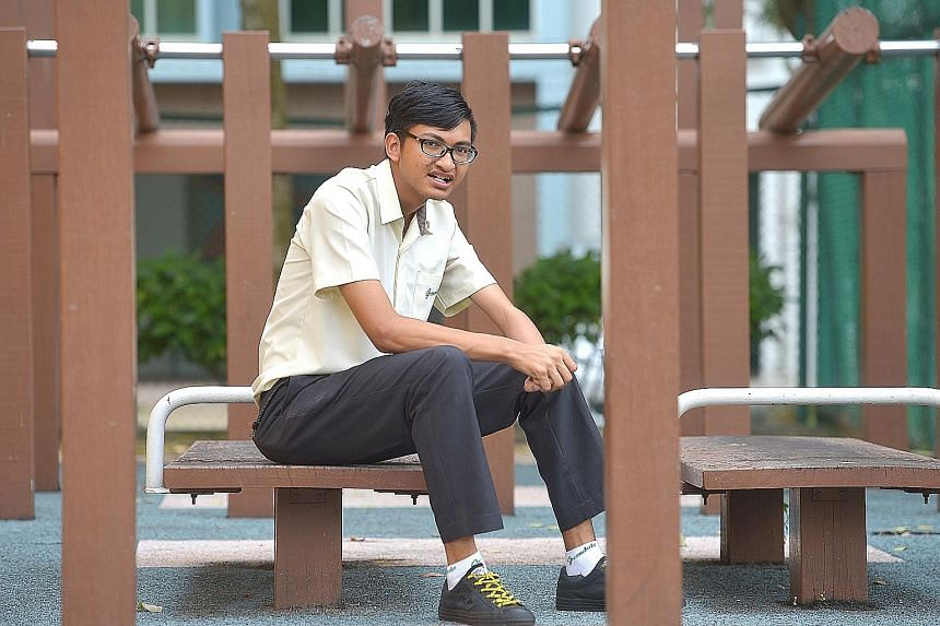Greendale Secondary student Lionel Toh has qualified for the Direct Entry Scheme to Polytechnic Programme.