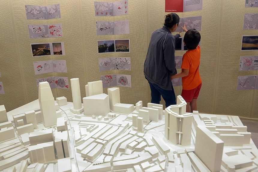 Called 1000 Singapores: Eight Points of the Compact City, the exhibition at the National Design Centre compares the planning strategies of Singapore and Paris.
