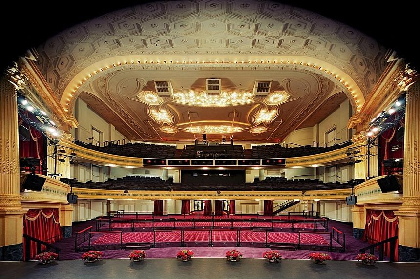The Hudson Theatre, which was built in 1903, is scheduled to reopen its doors late next year for the next Broadway season.