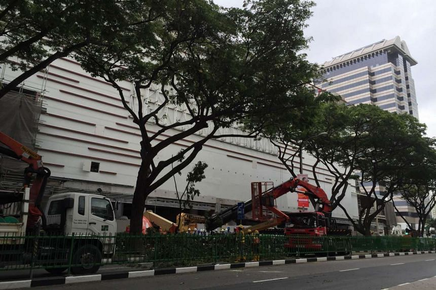 No one was injured in the incident, the SCDF said.