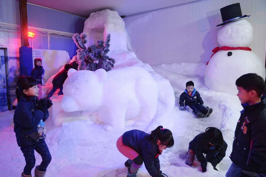 Snow City at Science Centre Singapore hopes to educate visitors about climate change.
