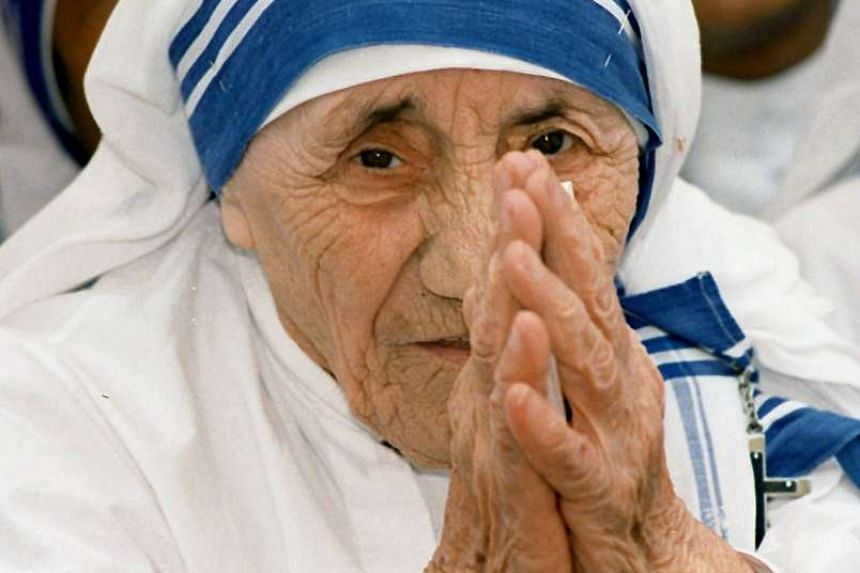 Mother Teresa in a 1997 file photo.