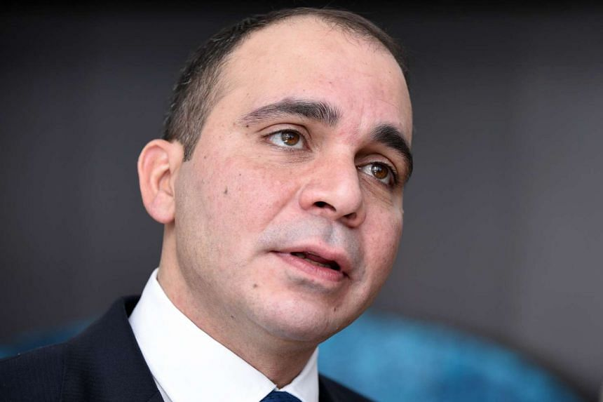 Fifa presidential candidate Prince Ali Bin Al Hussein of Jordan answers questions during an interview in Tokyo on Dec 19, 2015.