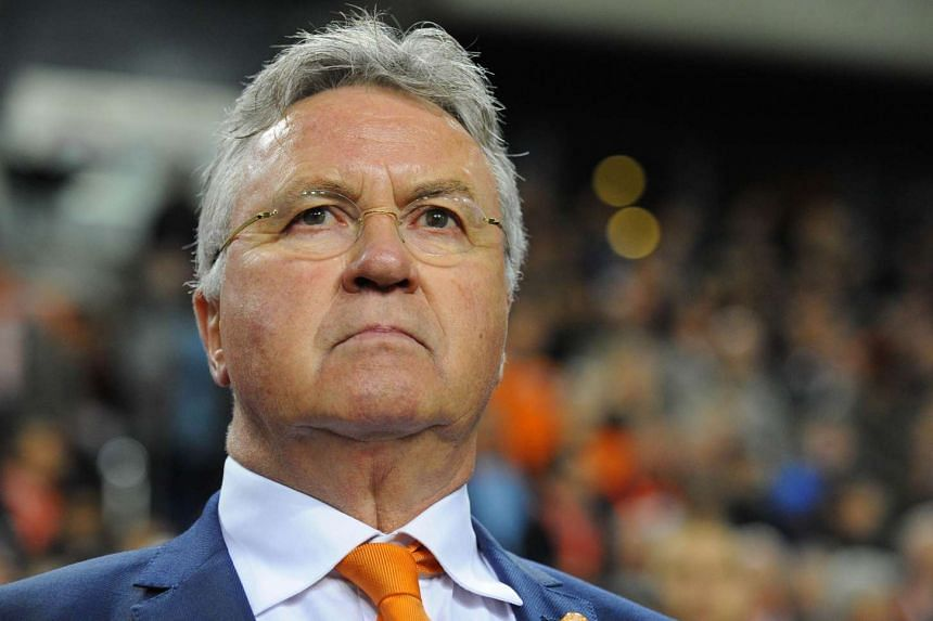 Guus Hiddink will take over the reins at Chelsea until the end of the season.