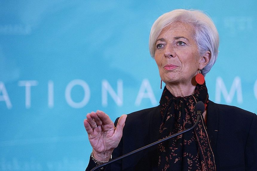 The French court has ordered Ms Lagarde to face trial over her role in a payout of some €400 million (S$616 million) to businessman Bernard Tapie.