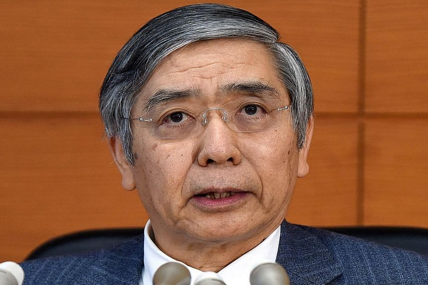 BOJ governor Haruhiko Kuroda says the central bank's new moves do not amount to expanded monetary easing but are aimed at supporting the shift away from a deflationary mindset among companies and households.