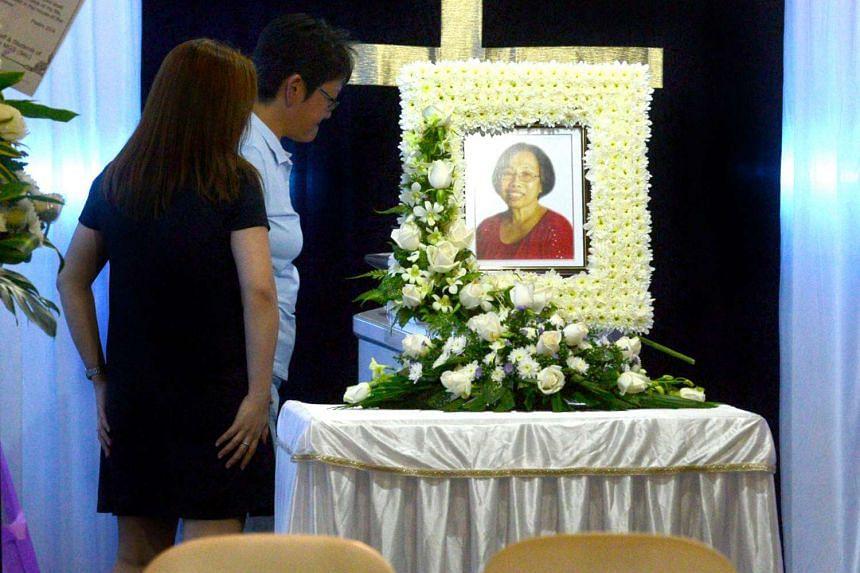 Ms Wong Gim Leng taught at Paya Lebar Methodist Girls' School since the 70s.