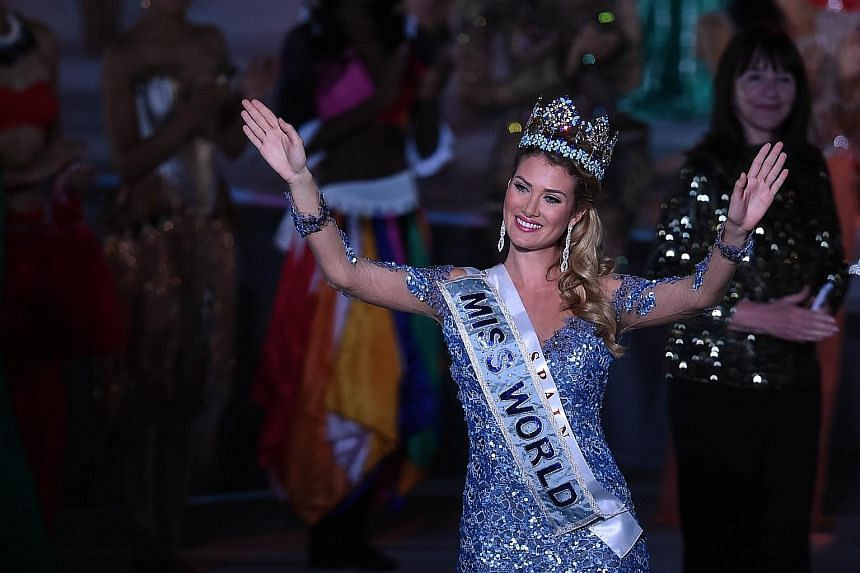 Ms Mireia Lalaguna of Spain was crowned Miss World 2015 in Sanya, in southern China's Hainan province, yesterday. Miss Russia was placed second while Miss Indonesia came in third.