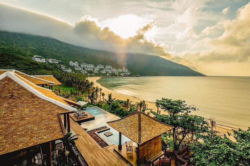 The InterContinental Danang Sun Peninsula Resort in Vietnam is the world's leading luxury resort for the second year running.