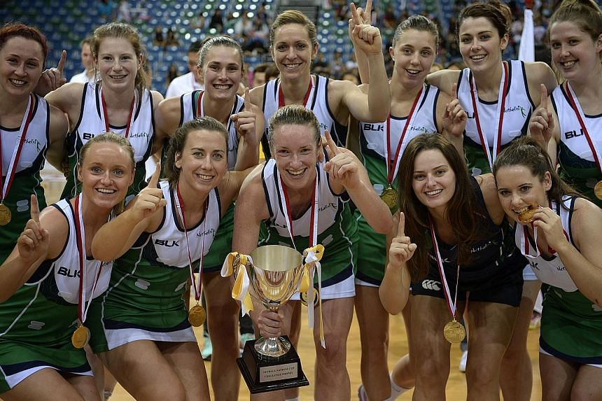 Northern Ireland profited from a commanding 16-4 lead in the first quarter to hold off Papua New Guinea for the rest of the final to clinch the Mission Foods Nations Cup.