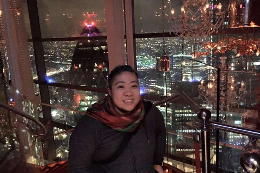 Theresa Goh, who is soaking up the sights of London, treasures the freedom to be alone, which also forces her to be braver to take control and make things happen.