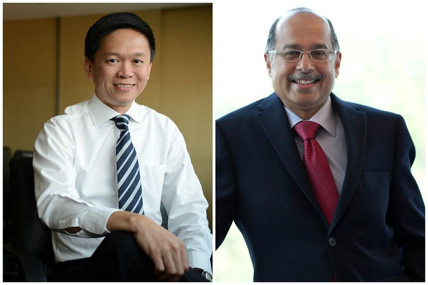 Mr Ng Soo Nam (left) and Mr Thali Koattiath Udairam have been reappointed to the Singapore Totalisator Board.