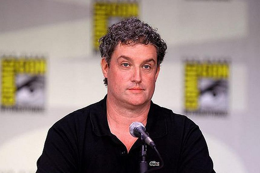 Al Jean (above) says people consider The Simpsons (top) as extended family.
