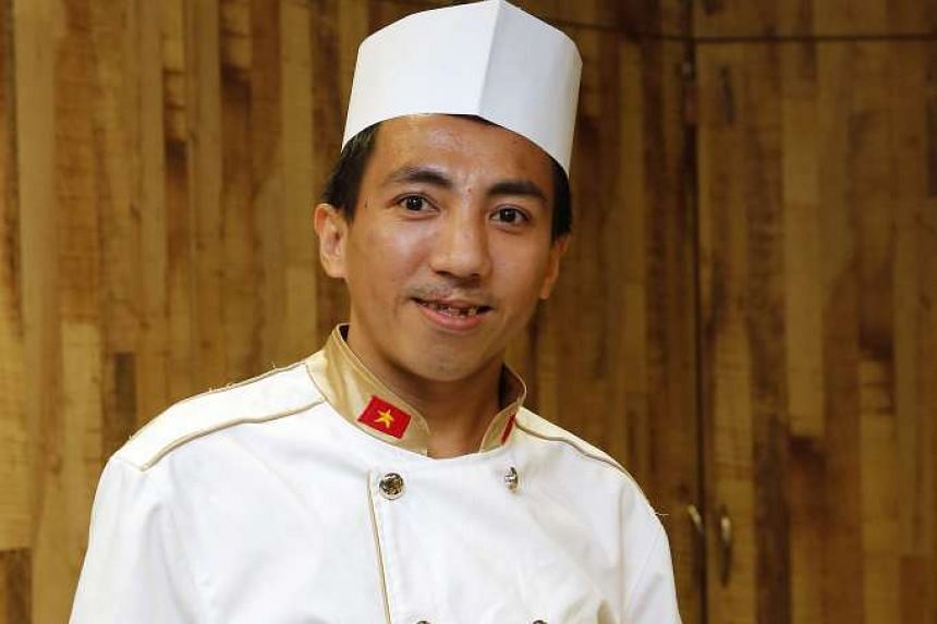 When he was a child, chef Vo Duy Nam was exploited by a trafficker to work as a street peddler.