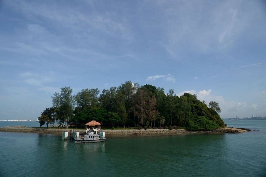 Sisters' Island, part of Singapore's first marine park.