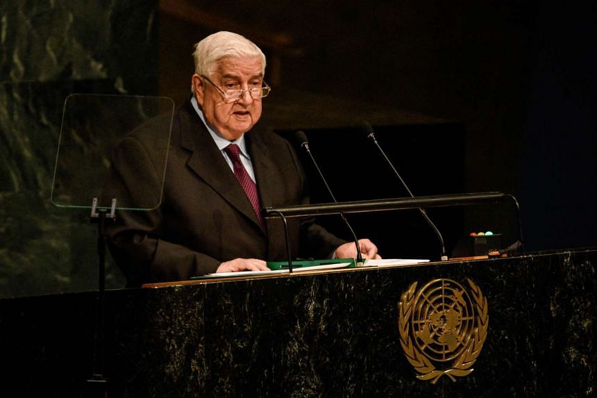 Syrian Foreign Minister Walid al-Moualem will be visiting China from Dec 23-26.