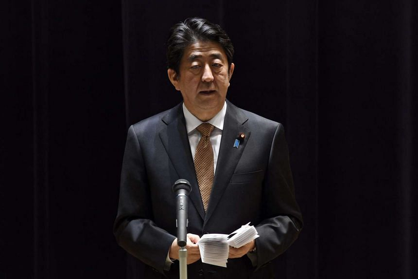 The study group was placed directly under Prime Minister Shinzo Abe.