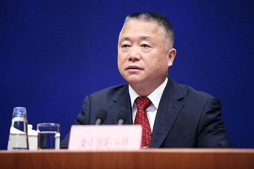 Mr Liu Yuejin previously served as an assistant minister of public security and has worked on the country's anti-narcotics efforts since the 1980s.