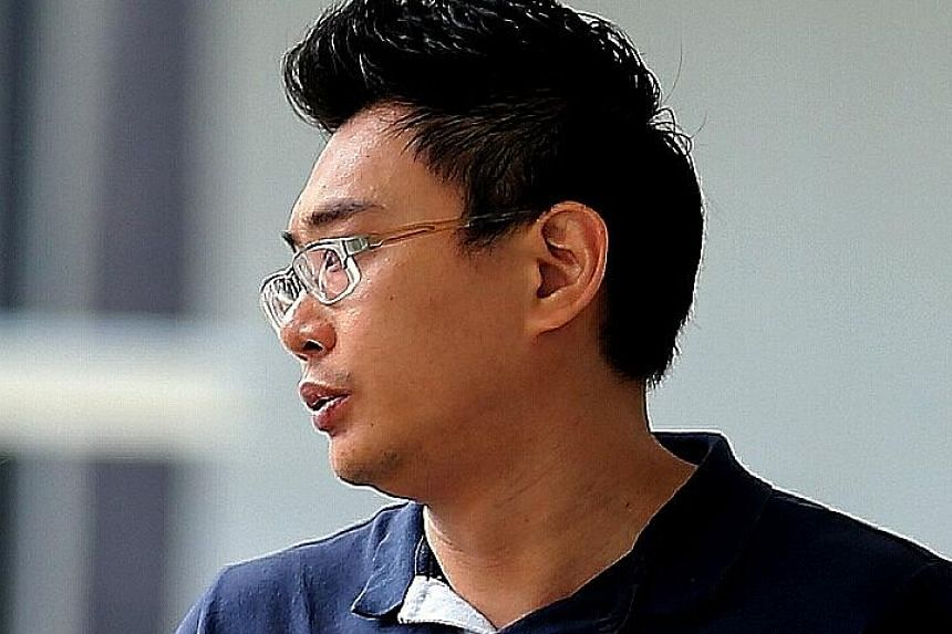 One of the three culprits was Fabian Lee Yang Minn, 29, who was sentenced to five weeks' jail for taking an upskirt video.