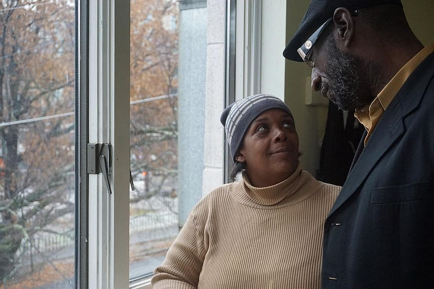 Mr Nathan Hunter-El and his wife, Denise, have spent the last two years squatting in relatives' homes, and moving in and out of hotels. If they do not find housing by the end of the year, they might just end up on the streets.
