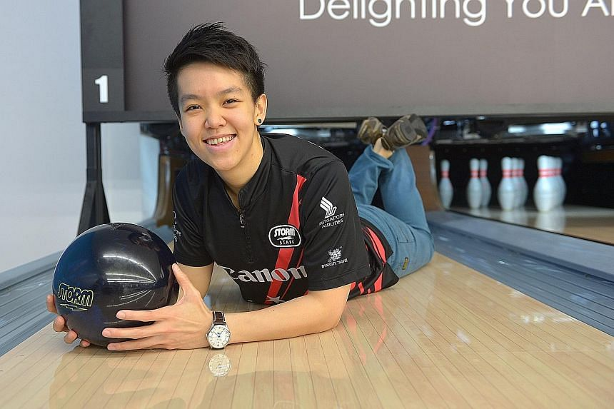 Shayna Ng, who won the all-events gold at the Women's World Bowling Championships, foresaw her own emerging success by predicting it in a time capsule at CHIJ Secondary.