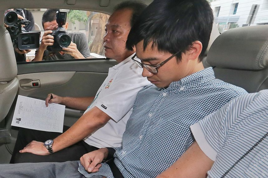 Myanmar national Yae Wynnt Oaung (middle) was also sentenced to jail for driving offences, but this was backdated to the time he was in remand.