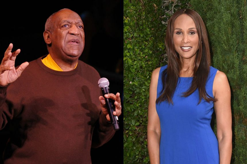 Comedian Bill Cosby (left) sued model Beverly Johnson saying she defamed him by accusing him of drugging her.
