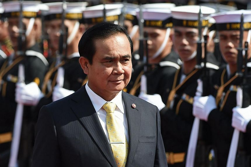 Thai prime minister and junta leader Prayut Chan-o-cha reiterated  that the junta will hand back power in 2017.