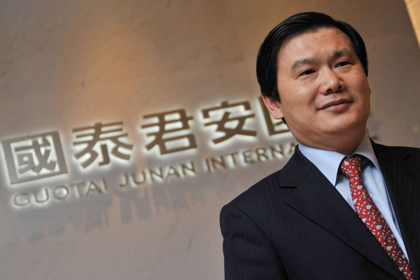 """Dr Yim Fung, chairman of Guotai Junan International, has returned to work after """"assisting"""" with an investigation on the mainland."""