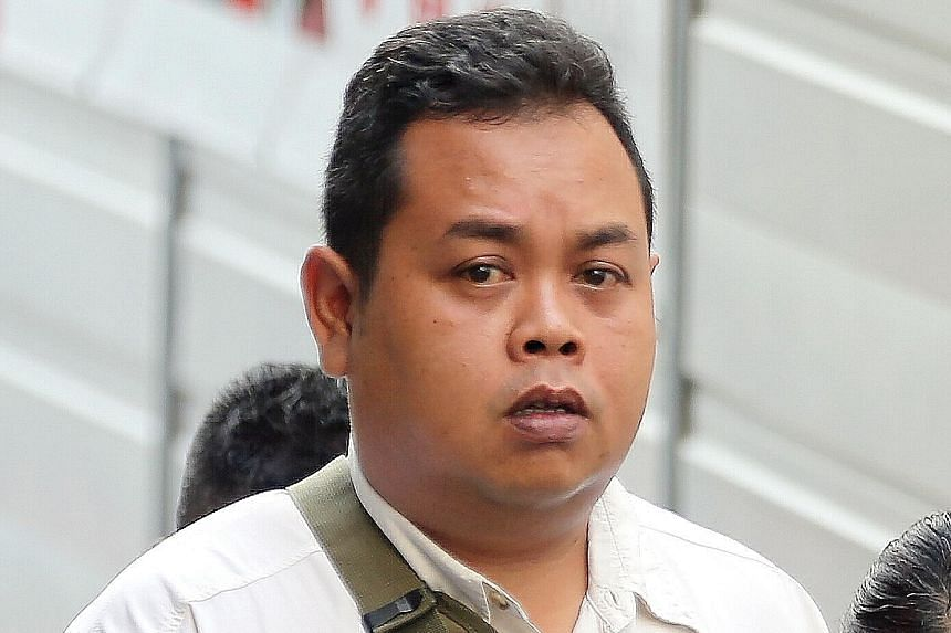 Rahmat admitted to 25 charges of abetment to cheat.