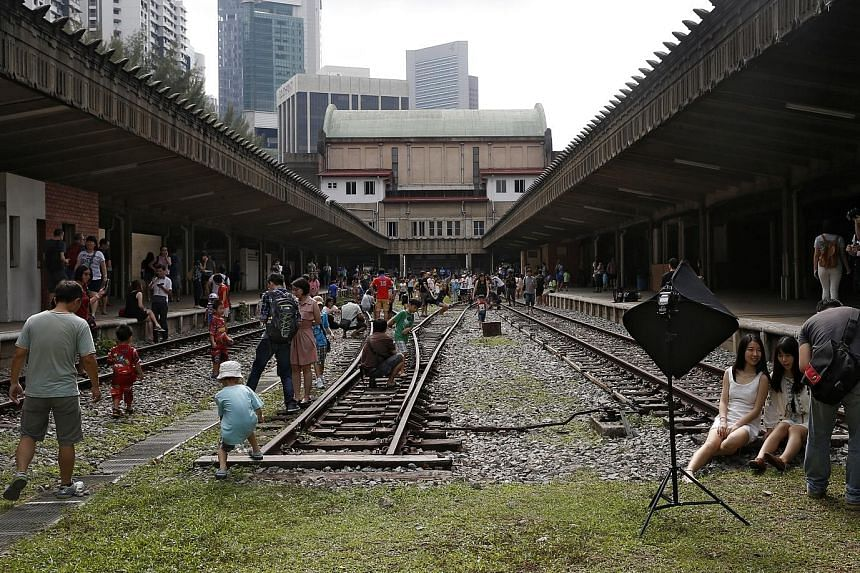 The former Tanjong Pagar Railway Station has been open to the public on every public holiday since Chinese New Year. It also hosts events ranging from flea markets to fashion shows.