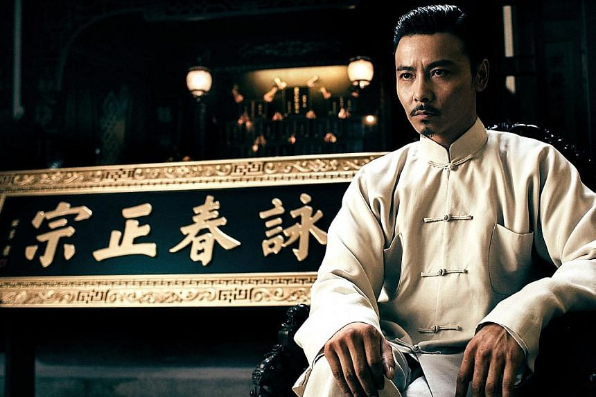 Max Zhang Jin plays a wing chun practitioner in Ip Man 3.