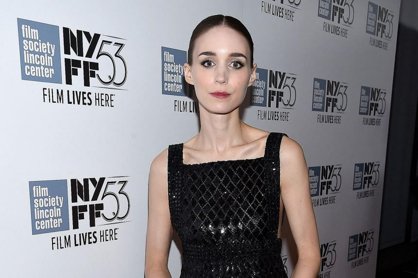 Rooney Mara at the premiere of Carol at the recent New York Film Festival.