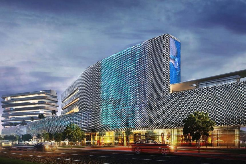 An artist's impression of the future development on the site of The Verge, which is being sold to Mr Keith Tang, chairman of the Heritage Group and the grandson of the late founder of Tangs department store.