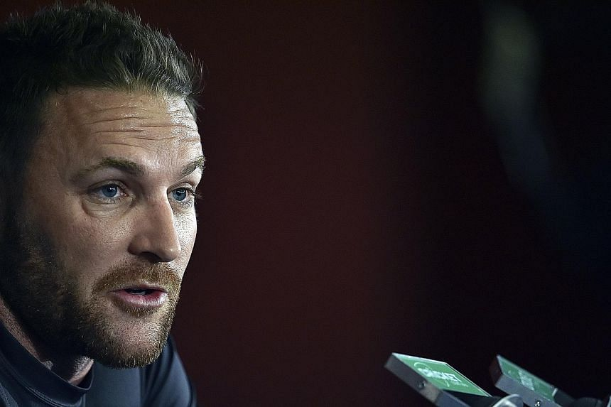 Brendon McCullum, who led New Zealand through an exhilarating two years of success, will retire from international cricket in February.