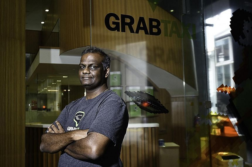 GrabTaxi will launch a new Go Home feature on its app to allow drivers to find passengers who are heading in the direction of the drivers' homes. Mr Arul Kumaravel, GrabTaxi's vice-president of engineering, says this feature will benefit the drivers