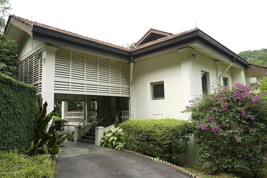 The online poll found that 77 per cent supported Mr Lee Kuan Yew's wishes for his home.