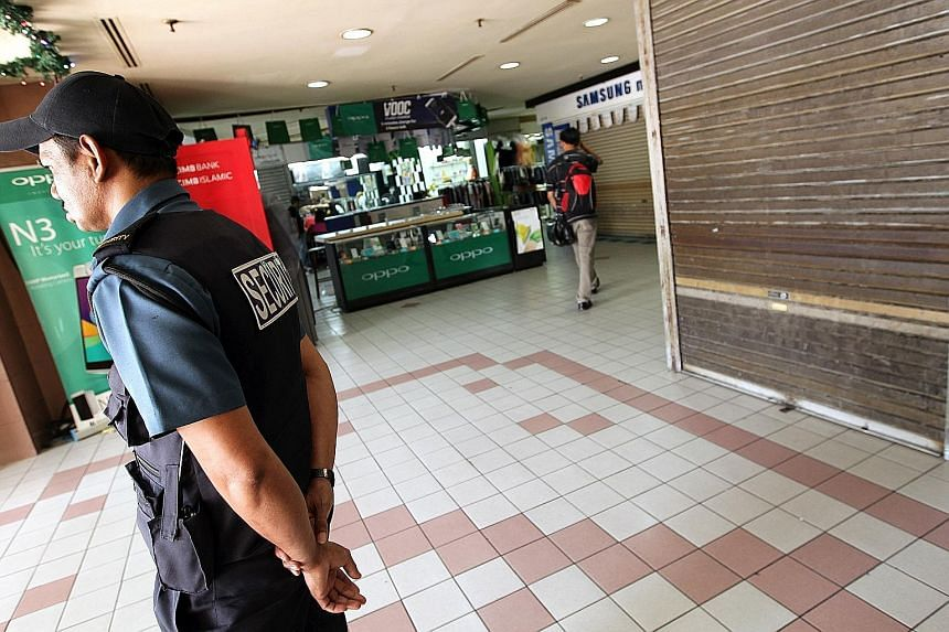"Mr Mohd Ali Baharom (above), raised tensions further when he said on Monday that any reaction to the brawl at Kota Raya mall by the Chinese would lead his men to ""rise""."