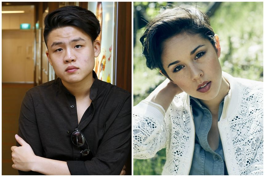 Singers Gentle Bones and Kina Grannis were barred from leaving Indonesia because of a problem with their performance permit.