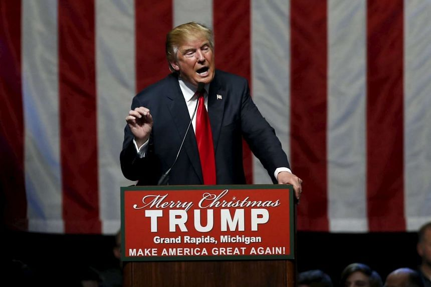 Provocative American billionaire Donald Trump is leaving his Republican rivals far behind in the polls.