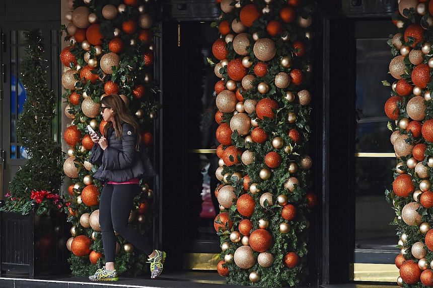 The Dorchester hotel in Central London, owned by the Brunei Investment Agency, decked out in Christmas decorations on Tuesday. In Brunei, the government has banned open displays of Christmas trees and Santa Claus figures since last year. Those who br