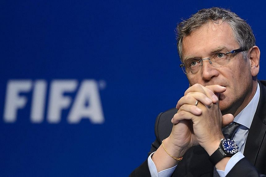 Jerome Valcke was Fifa's secretary- general until September, when he was suspended amid allegations of involvement in ticket touting.