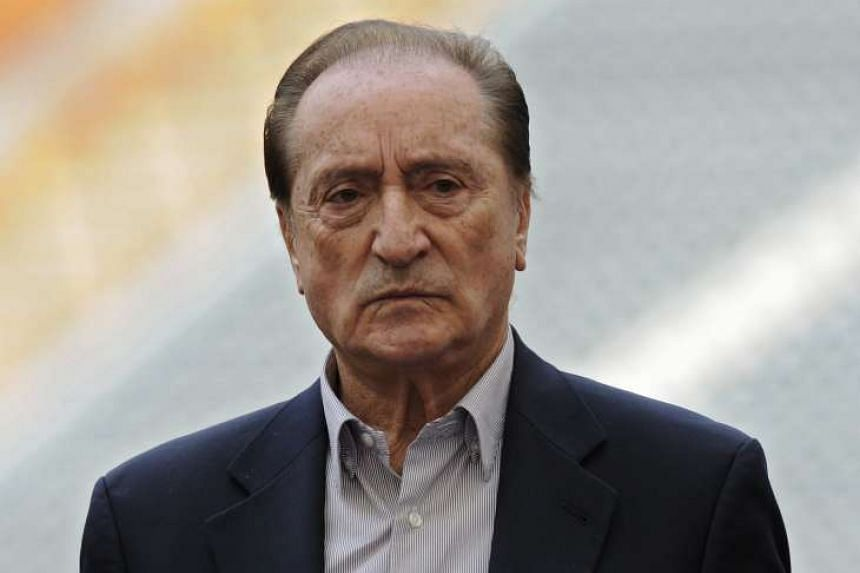 Figueredo (above) was one of seven top Fifa officials arrested at a Zurich luxury hotel in May.