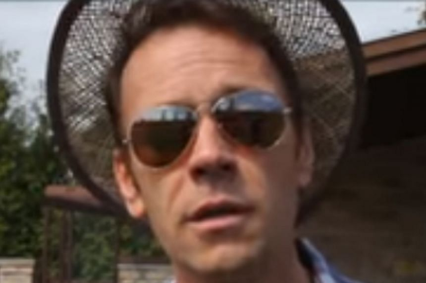 Porn star Rocco Siffredi speaks in a video posted on YouTube.