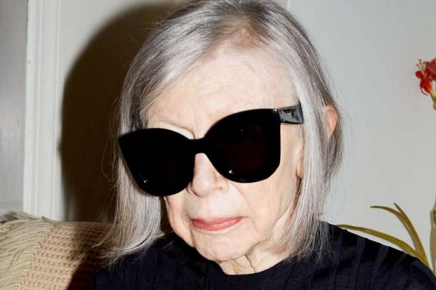 Joan Didion appeared in an advertisement for Celine and churned up a flurry of discussion in the fashion press.