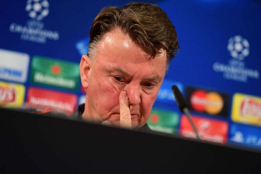 Van Gaal (above) has reportedly been given two games to save his job.