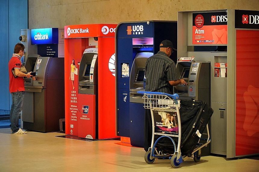 Data generated by ATMs is especially useful for banks. Transaction logs show withdrawal times and the number of bills dispensed, so banks know when to refill the ATMs and where there might be heavier usage, such as in Orchard Road during Christmas.